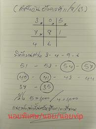 แนวทางหวยฮานอย 11/8/63 ชุดที่5