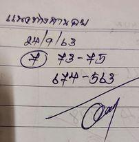แนวทางหวยฮานอย 24/9/63 ชุดที่10