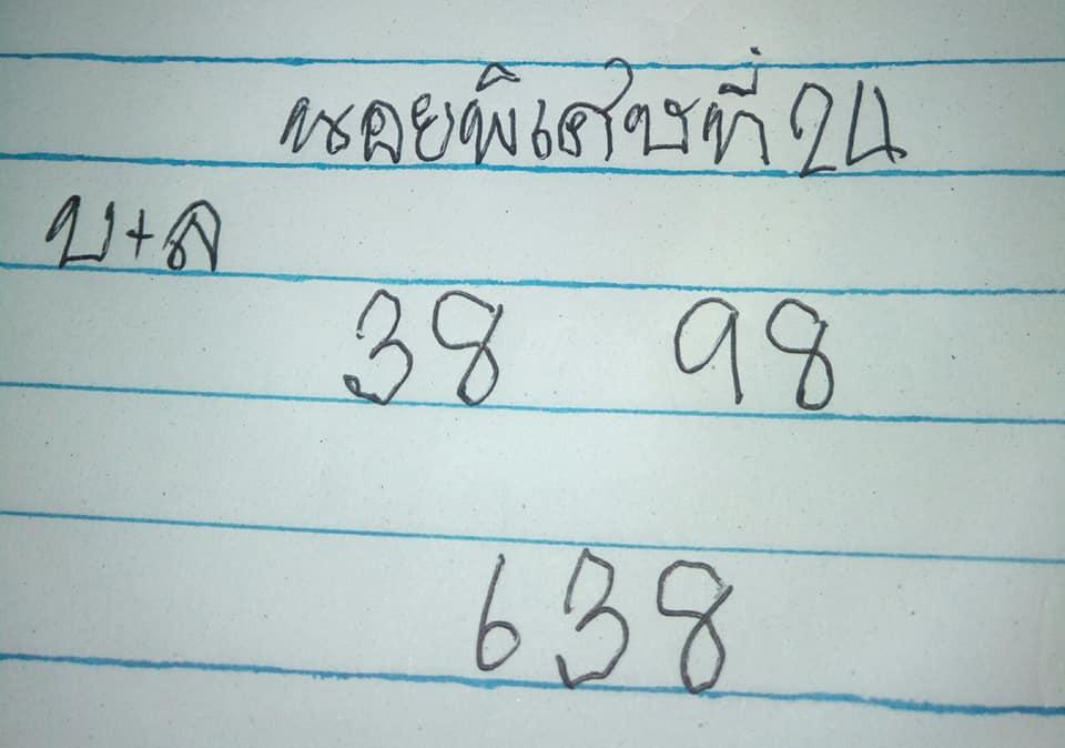 แนวทางหวยฮานอย 24/9/63 ชุดที่4