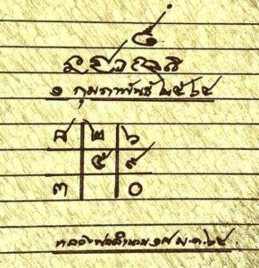 หวยหลวงพ่อเงิน 1/2/64