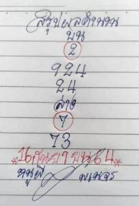 หวยหนูผีพเนจร 16/9/64